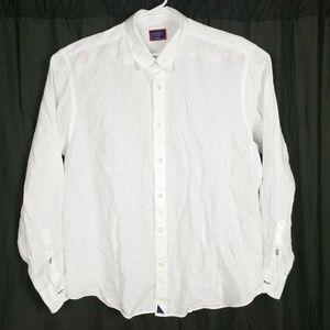 Untuckit Linen White Shirt